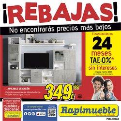 Catálogo Rapimueble ( Caduca mañana)