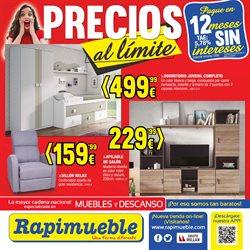 Ofertas de Rapimueble  en el folleto de Navatejera