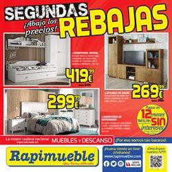 Ofertas de Hogar y muebles  en el folleto de Rapimueble en Lucena