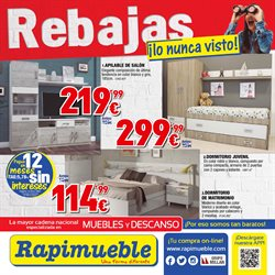 Ofertas de Rapimueble  en el folleto de Cartagena