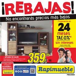 Catálogo Rapimueble ( 2 días más)