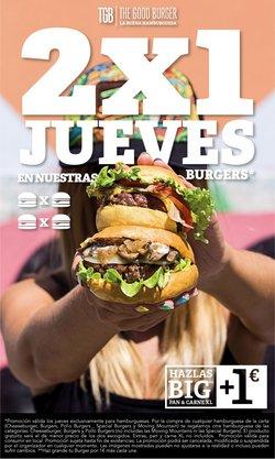 Ofertas de The Good Burger en el catálogo de The Good Burger ( Caducado)