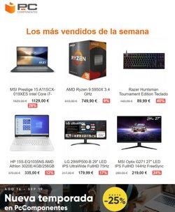 Ofertas de PC Componentes en el catálogo de PC Componentes ( Caduca hoy)