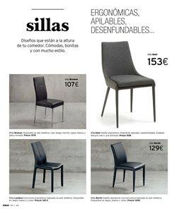 Ofertas de Sillas  en el folleto de Kibuc en Zaragoza