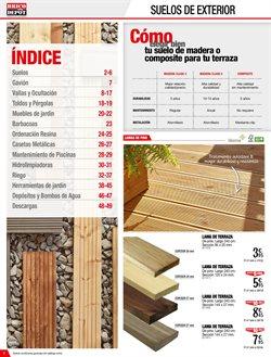 Comprar suelos de madera en coslada ofertas y descuentos - Suelo exterior brico depot ...