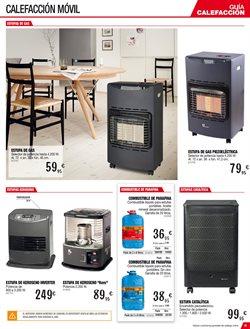 Ofertas de Estufa de gas  en el folleto de Brico Depôt en Madrid