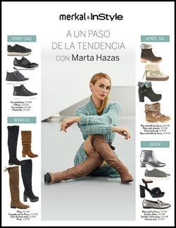 Ofertas de Zapatos  en el folleto de Merkal en Alcázar de San Juan