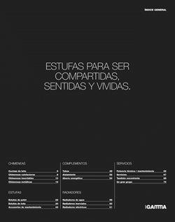 Ofertas de Estufa de pellet  en el folleto de Grup Gamma en Barcelona