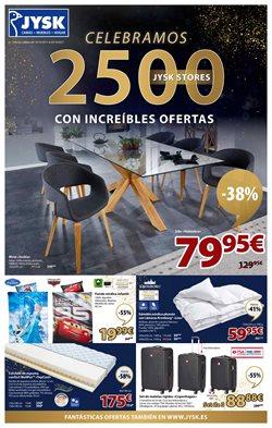 Ofertas de Hogar y muebles  en el folleto de JYSK en Chiclana de la Frontera