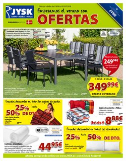 Ofertas de JYSK  en el folleto de Madrid