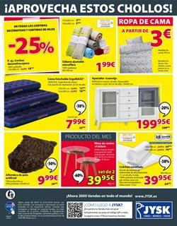 Ofertas de Colchones  en el folleto de JYSK en Telde