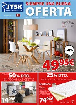 Ofertas de Hogar y muebles  en el folleto de JYSK en Pamplona