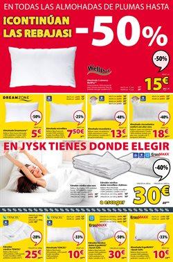 Ofertas de Camas  en el folleto de JYSK en Barcelona