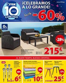 Ofertas de Hogar y muebles  en el folleto de JYSK en Sant Cugat del Vallès