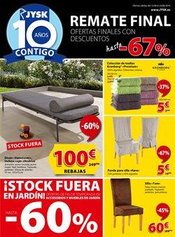 Ofertas de Hogar y muebles  en el folleto de JYSK en Torremolinos