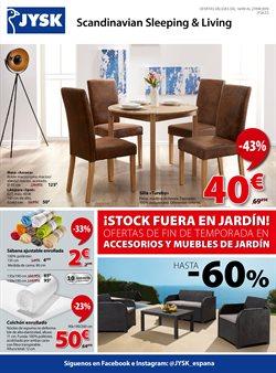 Ofertas de Hogar y muebles  en el folleto de JYSK en Conil de la Frontera