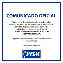 Ofertas de Hogar y Muebles en el catálogo de JYSK en Alberic ( 3 días más )