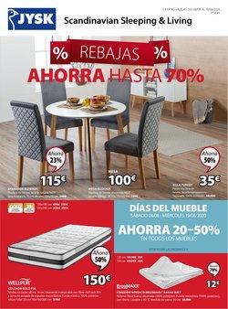 Catálogo JYSK en Jerez de la Frontera ( 5 días más )