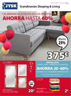 Ofertas de Hogar y Muebles en el catálogo de JYSK en Almería ( 3 días más )
