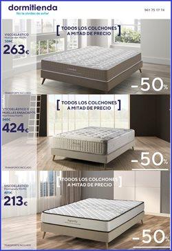 Ofertas de Dormitienda  en el folleto de Valencia