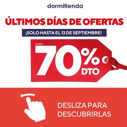 Catálogo Dormitienda ( 11 días más)