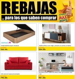 Catálogo Muebles Max Descuento ( 12 días más)