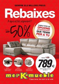 Ofertas de Hogar y muebles  en el folleto de Merkamueble en Barcelona