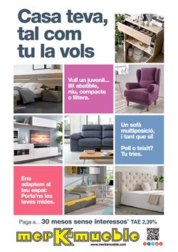 Ofertas de Merkamueble  en el folleto de Tarragona