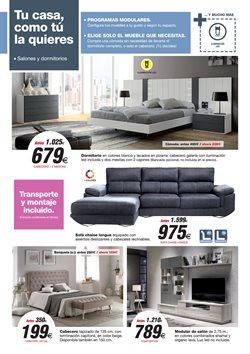 Ofertas de Dormitorios  en el folleto de Merkamueble en Murcia
