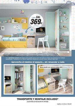 Ofertas de Dormitorio juvenil  en el folleto de Merkamueble en Zaragoza