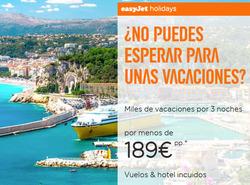 Ofertas de EasyJet  en el folleto de Madrid