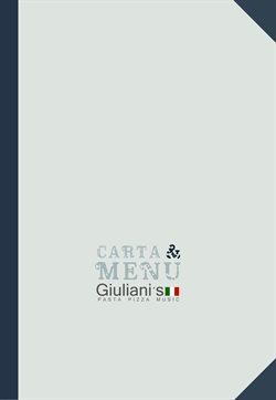 Ofertas de Restauración  en el folleto de Giuliani's en Castellón de la Plana