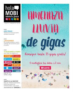 Ofertas de holaMOBI  en el folleto de Madrid