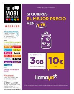 Ofertas de holaMOBI  en el folleto de Santa Lucía de Tirajana