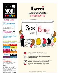 Ofertas de holaMOBI  en el folleto de Jerez de la Frontera