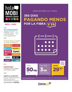 Ofertas de holaMOBI  en el folleto de Málaga