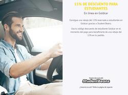 Ofertas de Alquiler de coches  en el folleto de GoldCar en Madrid