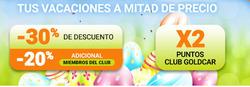 Ofertas de GoldCar  en el folleto de Algeciras