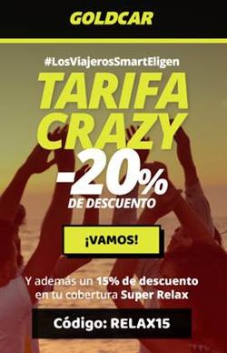 Cupón GoldCar en Fuengirola ( 7 días más )