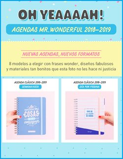 Ofertas de Mr Wonderful  en el folleto de Madrid