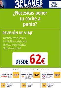 Ofertas de Coche, moto y recambios  en el folleto de Norauto en Guadalajara