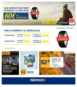 Ofertas de Norauto  en el folleto de Sant Cugat del Vallès
