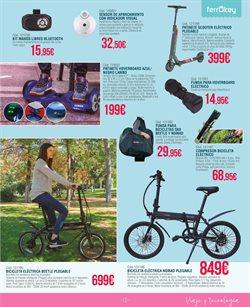 Ofertas de Bicicletas  en el folleto de ferrOkey en Ávila