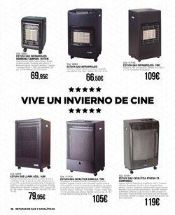 Ofertas de Estufa de gas  en el folleto de ferrOkey en Madrid