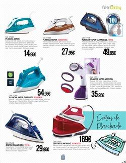 Ofertas de Plancha de vapor  en el folleto de ferrOkey en Madrid