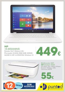 Ofertas de Punto de Informática  en el folleto de A Coruña