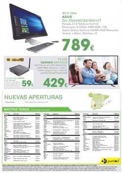 Ofertas de Tv led  en el folleto de Punto de Informática en Palamos