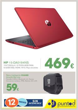 Ofertas de Punto de Informática  en el folleto de Mollet del Vallès