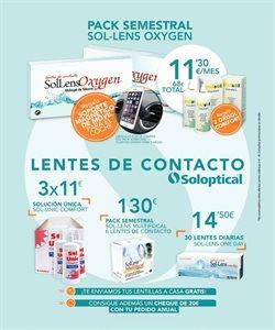 Ofertas de Lentillas  en el folleto de Soloptical en Madrid