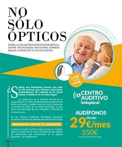 Ofertas de Audio  en el folleto de Soloptical en Madrid